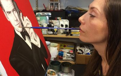 Feel Inspired By Mouth Painter, Mariam Paré